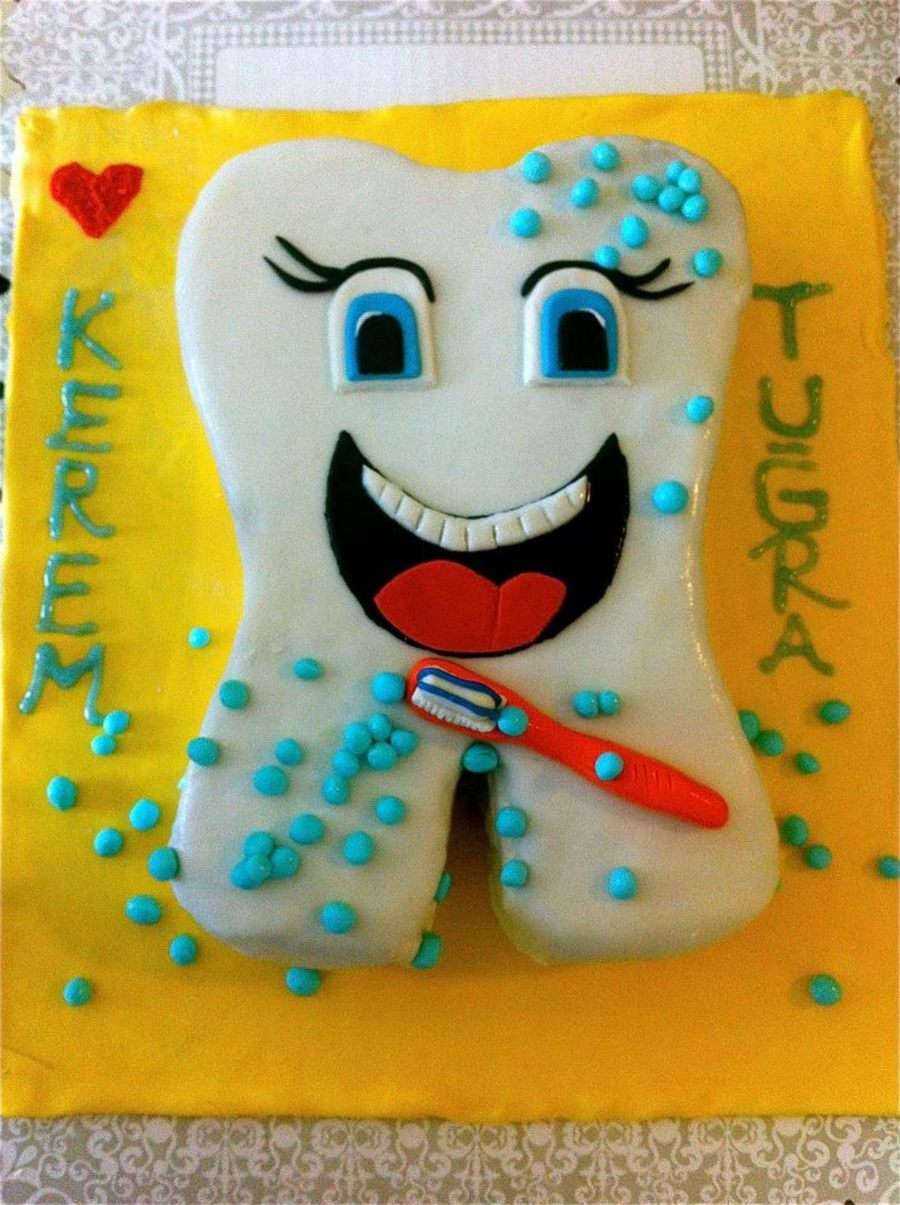 For My Sons First Tooth on Cake Central