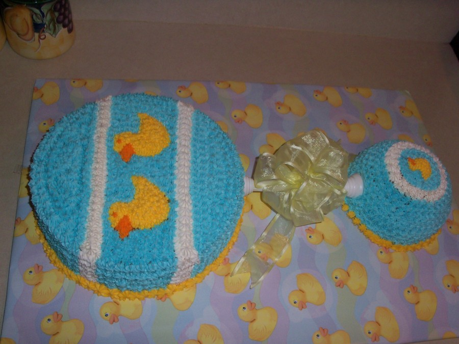 Duck Rattle Cake on Cake Central
