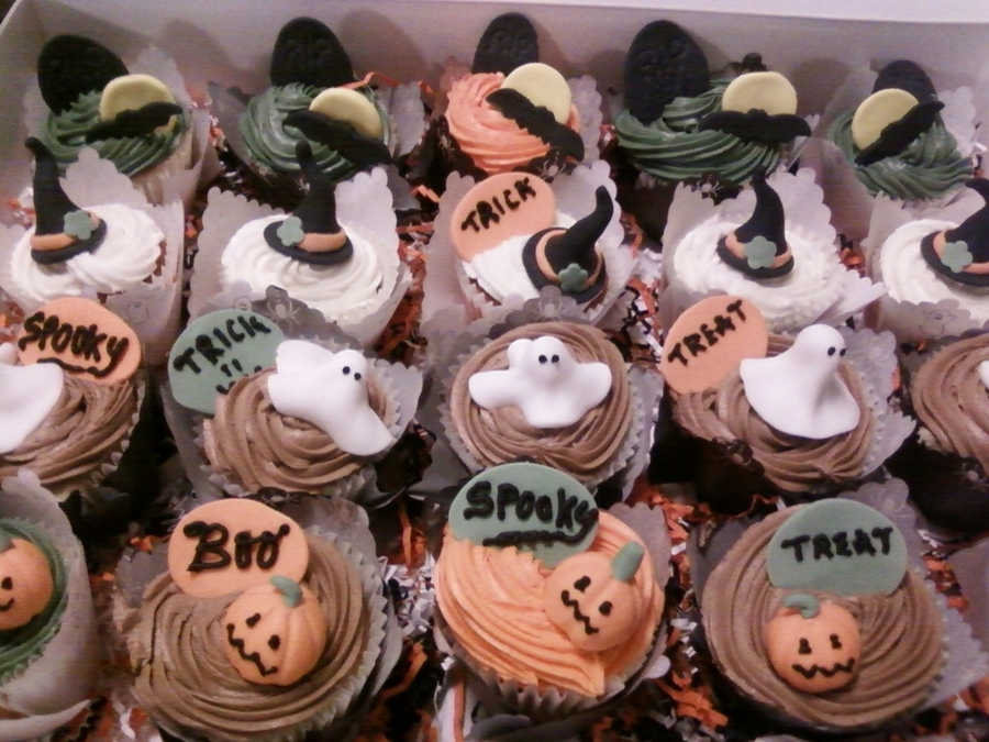 Halloween Cupcakes on Cake Central