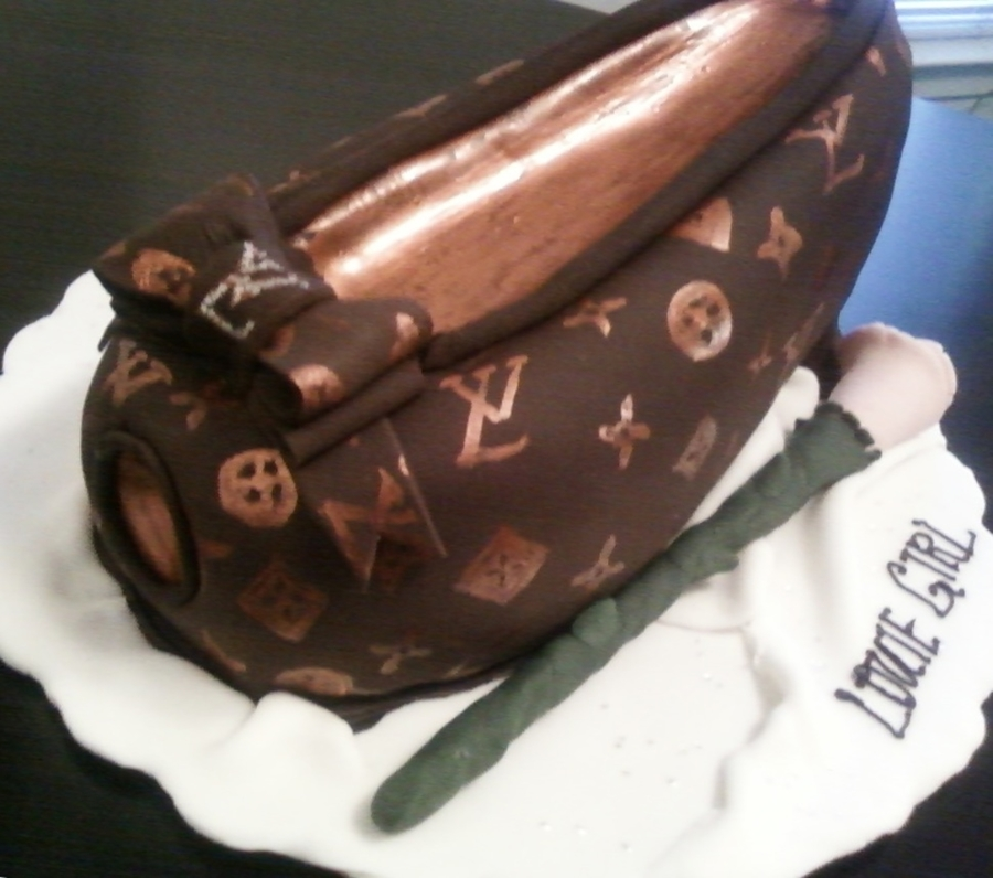 Louis Vuitton Shoe on Cake Central