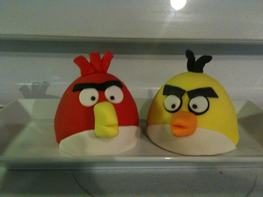Angry Birds Mini Cakes on Cake Central