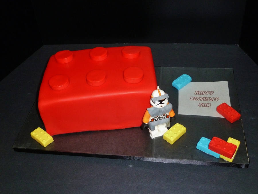 Lego Commander Cody on Cake Central