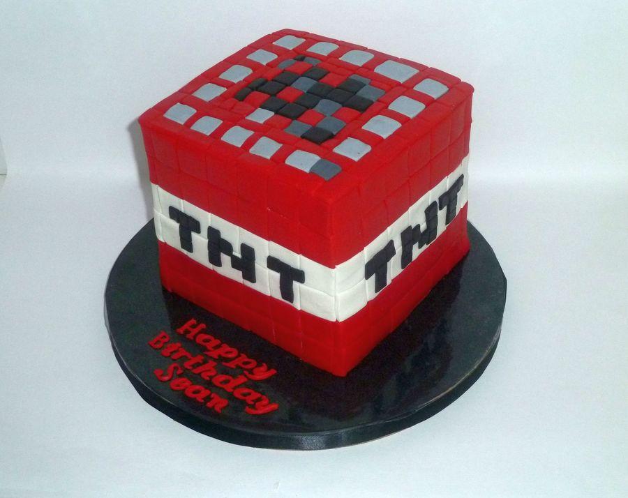 Minecraft Tnt - CakeCentral.com