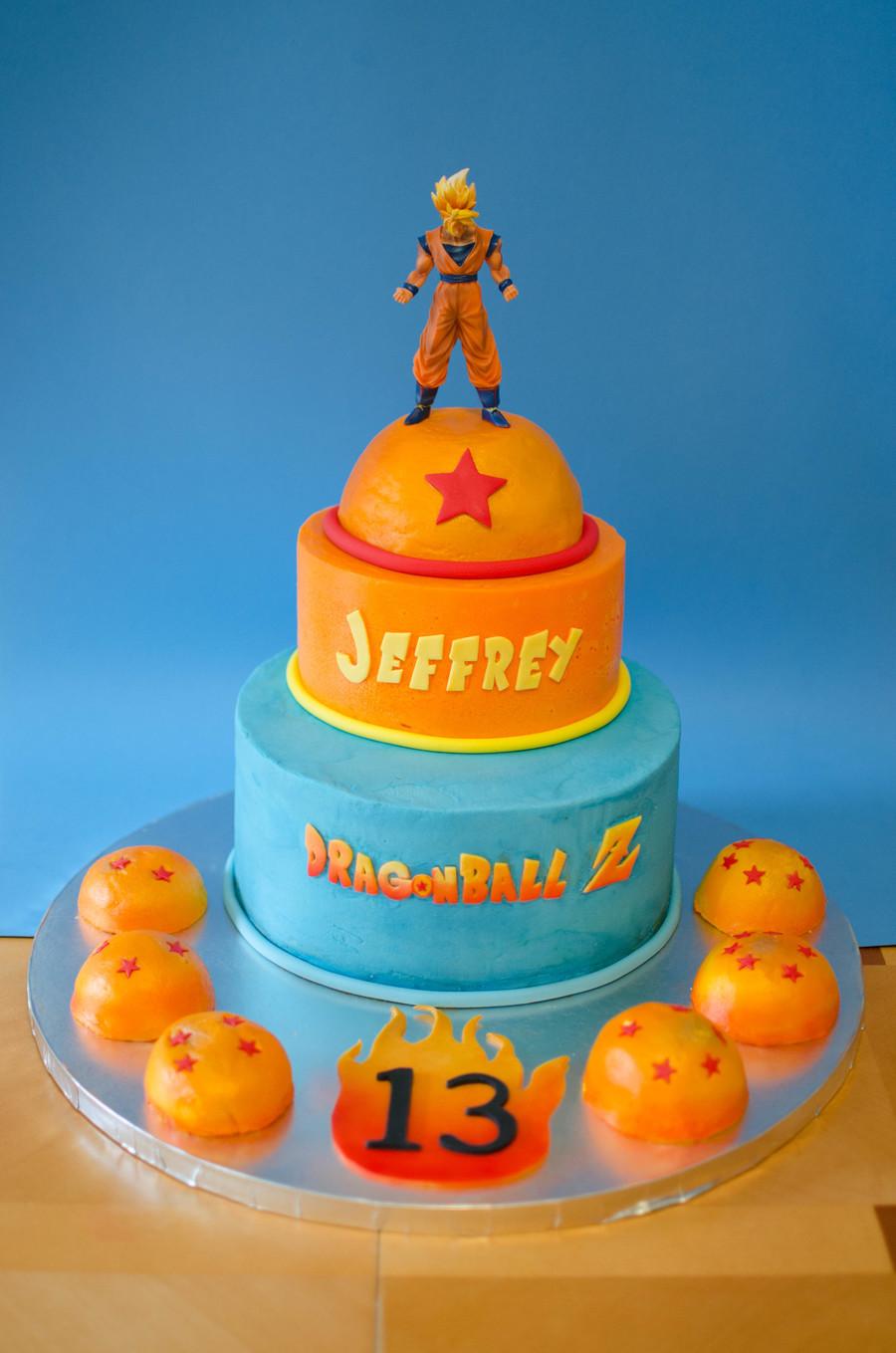 Image Result For Son Goku Birthday Cake