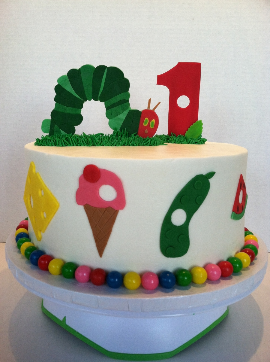 Very Hungry Caterpillar Cake on Cake Central
