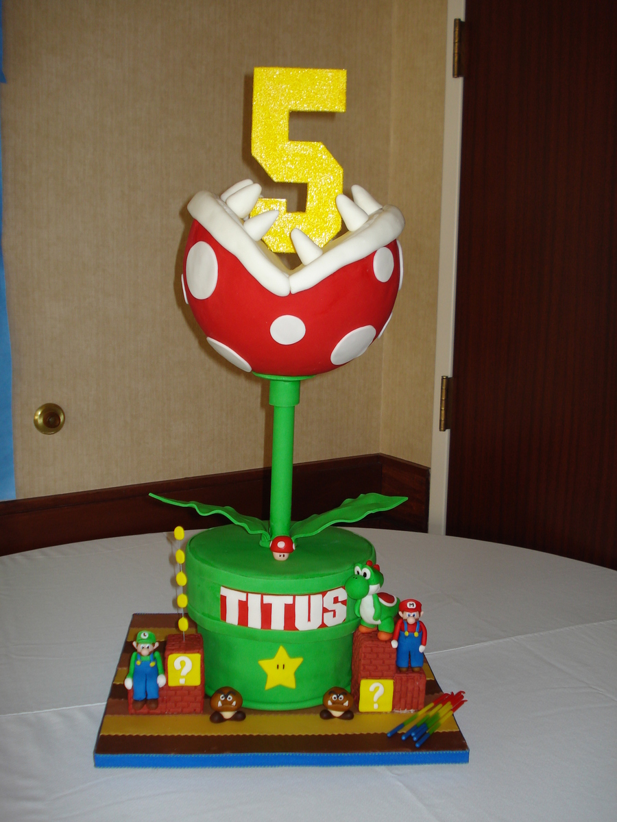 Petey Piranha Aka Fly Trap on Cake Central