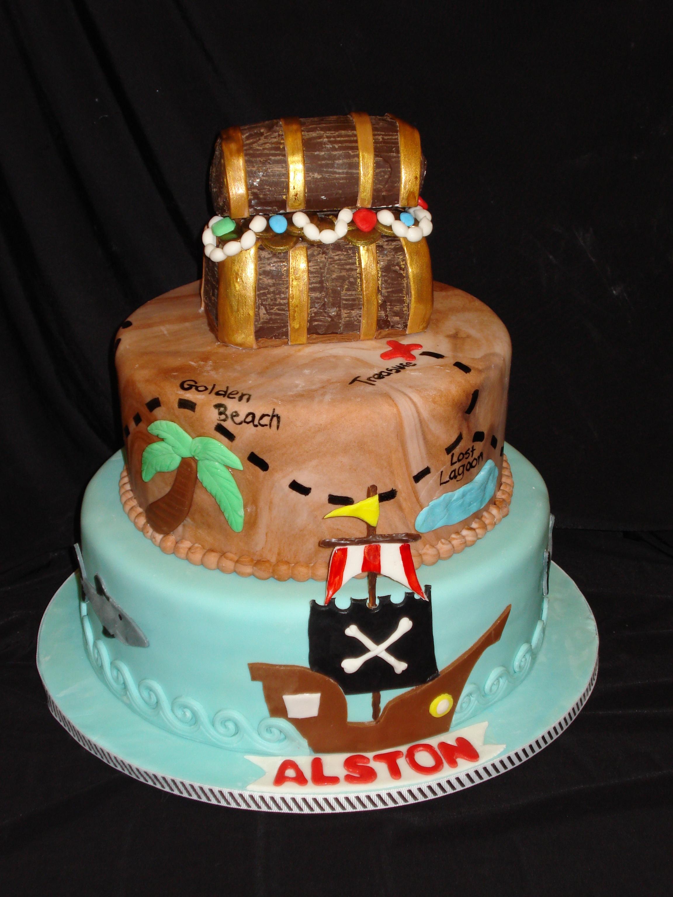 Elegant 40Th Birthday Cake Brooch Is Made Of Sugar CakeCentralcom