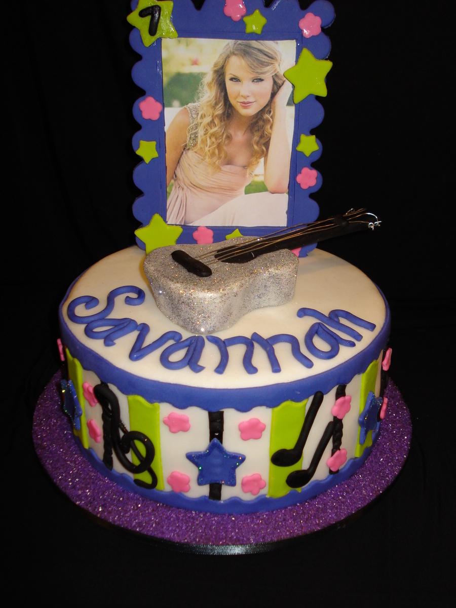 Awesome Taylor Swift Birthday Cake Cakecentral Com Funny Birthday Cards Online Inifodamsfinfo