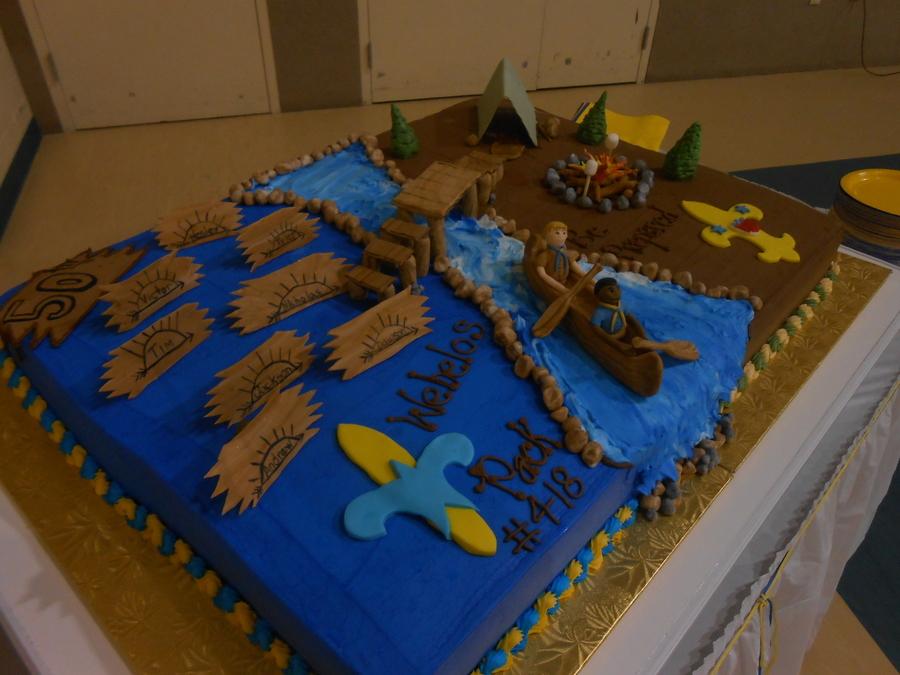 Cub Scout Boy Scout Bridging Cakecentral Com