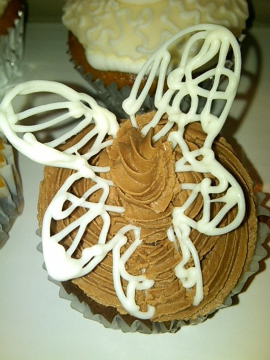 Chocolate Butterfly Cupcakes on Cake Central