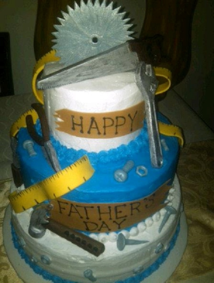 Father's Day Tools on Cake Central