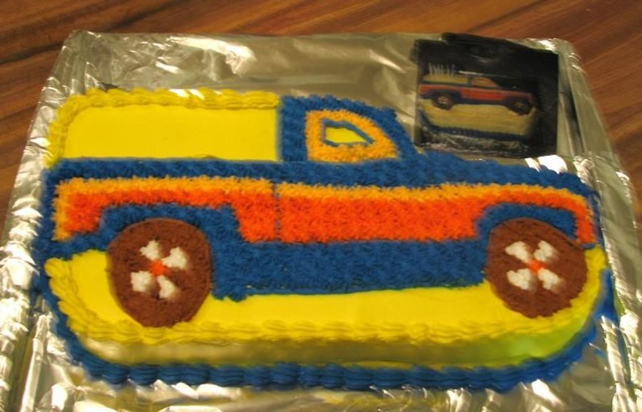 Pick Up Truck on Cake Central