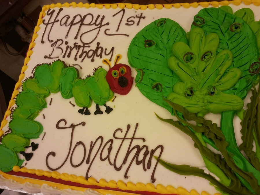 Hungry Hungry Catipillar on Cake Central