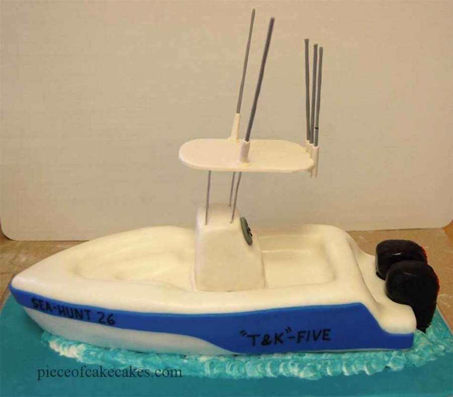 Fishing Boat on Cake Central