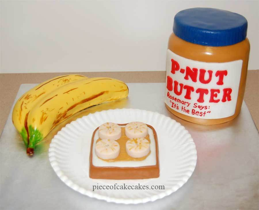 Peanut Butter And Banana on Cake Central