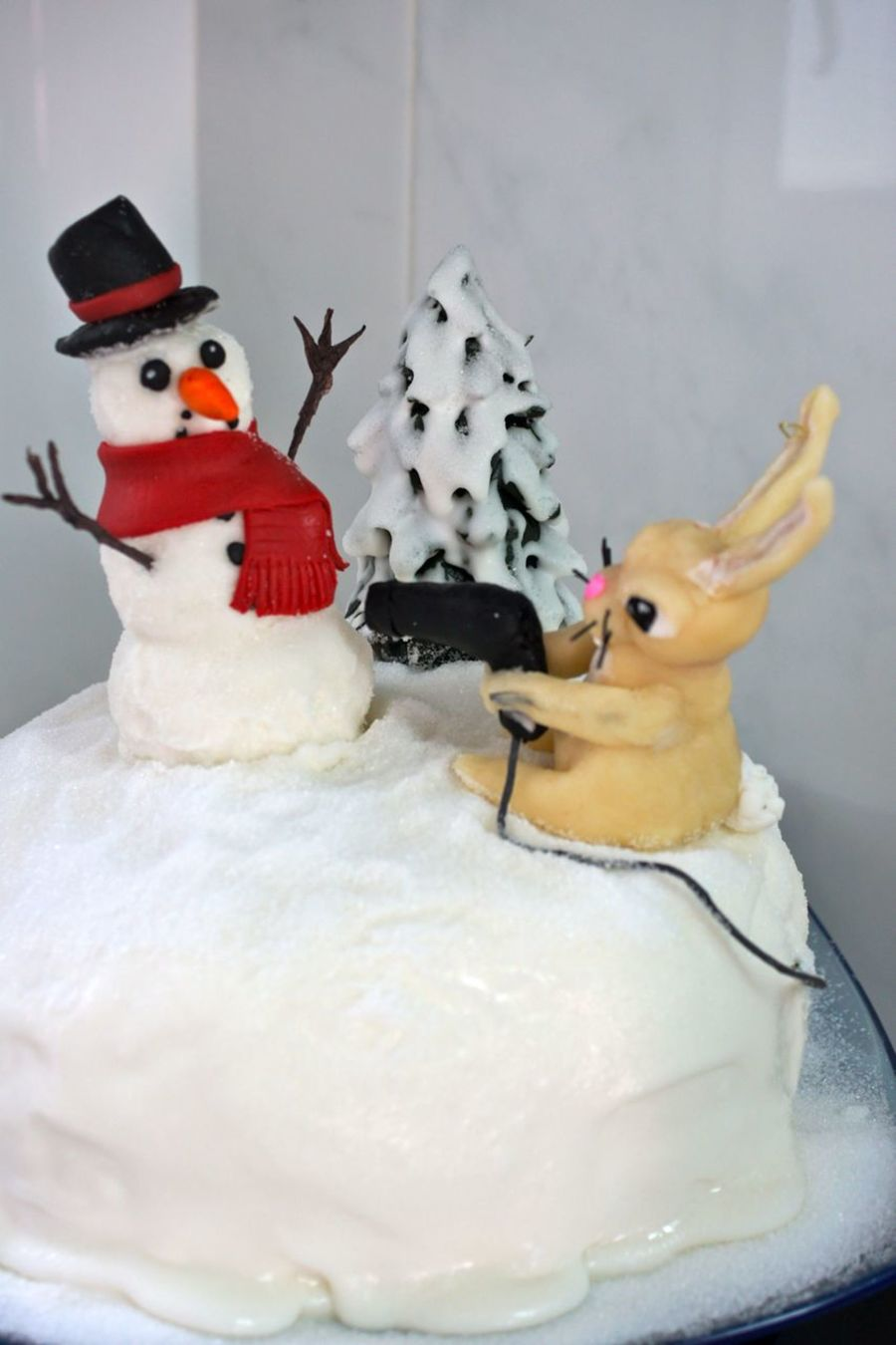 Your Nose Or Your Life, Snowman!  on Cake Central