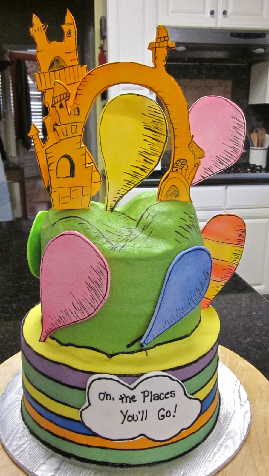 Seuss Oh The Places You Ll Go Cakecentral Com