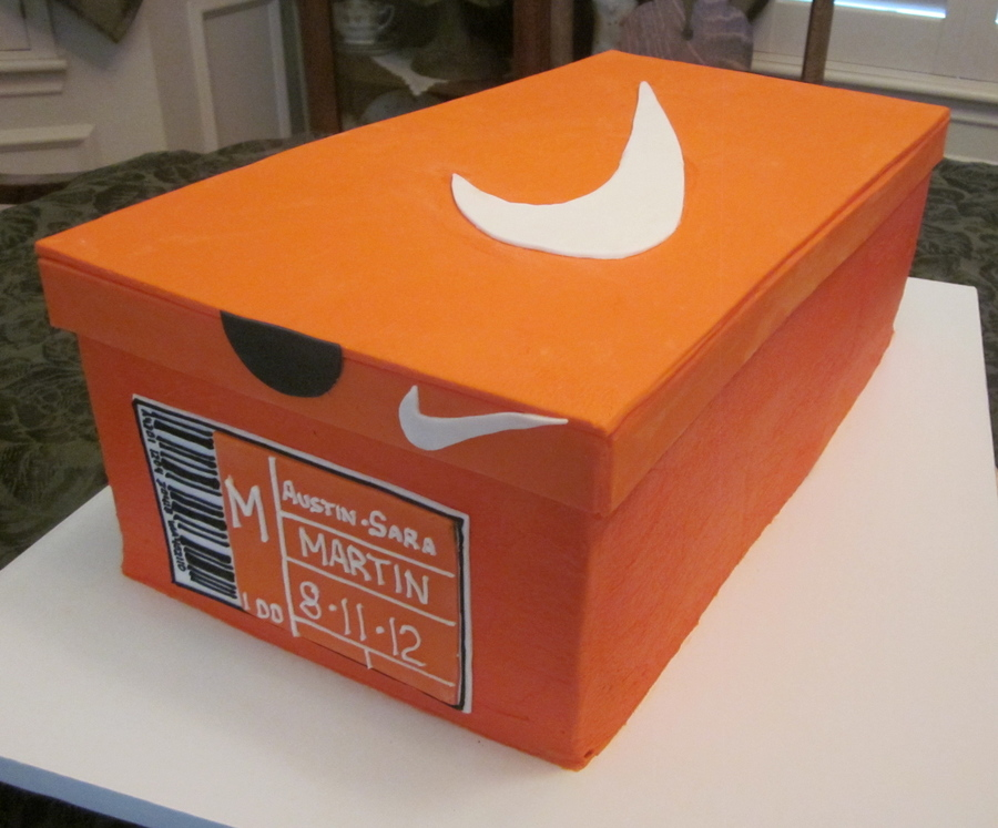 Shoe Box on Cake Central