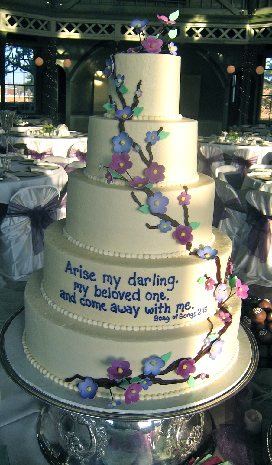 Wedding Verse on Cake Central