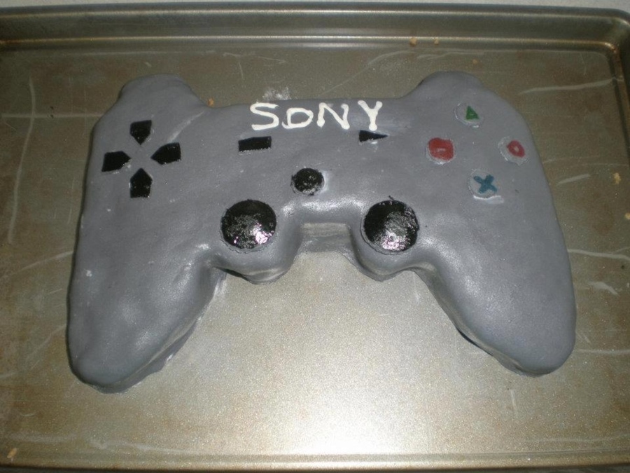 Playstation Controller on Cake Central