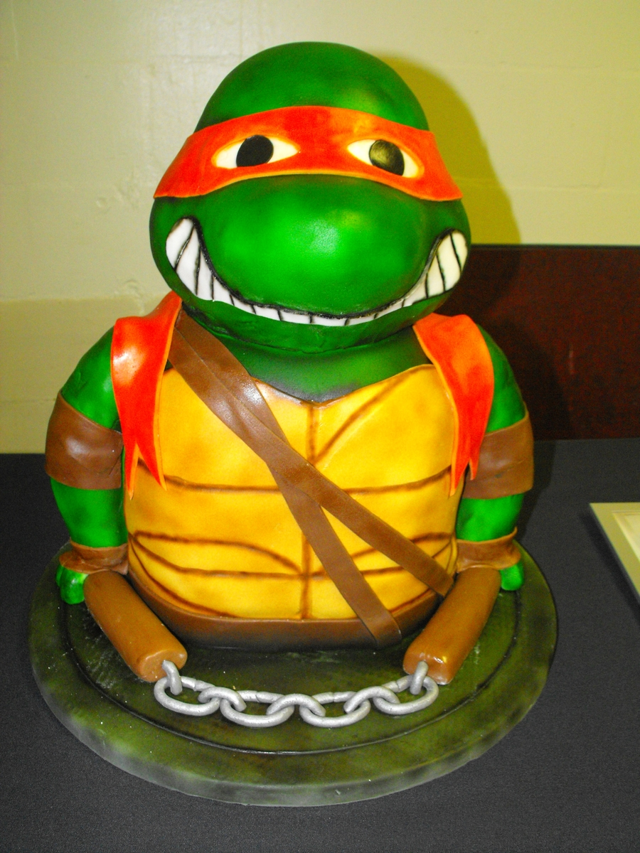 Pictures Of Ninja Turtles Birthday Cakes