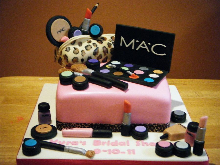 Makeup Cake Decorations : Mac Make Up Cake - CakeCentral.com