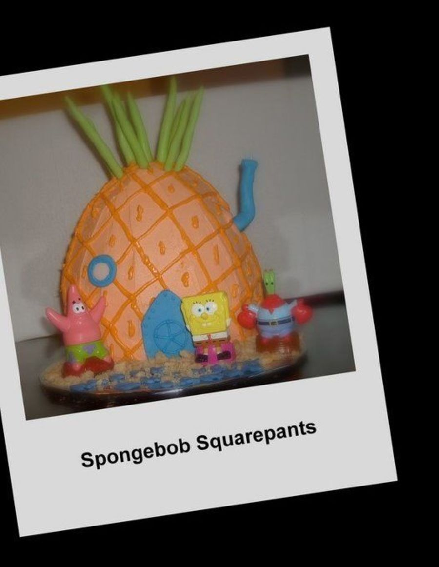Spongebob Squarepants Pineapple Under The Sea on Cake Central