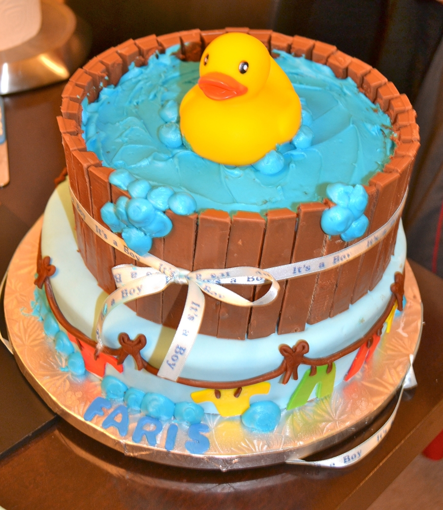 Pictures Of Baby Shower Cakes With Ducks