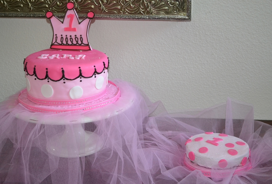 Little Princess Birthday Cake On Central