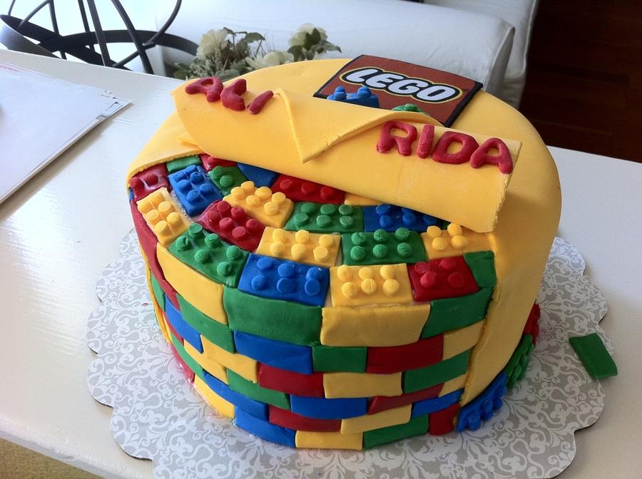 Lego Cake CakeCentralcom