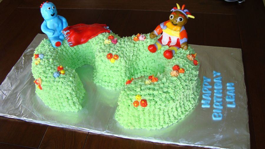In The Night Garden Birthday Cake on Cake Central