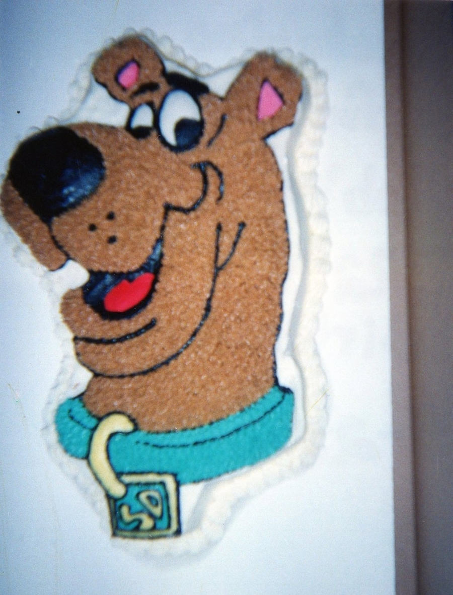 Scooby Doo Birthday Cake Pan
