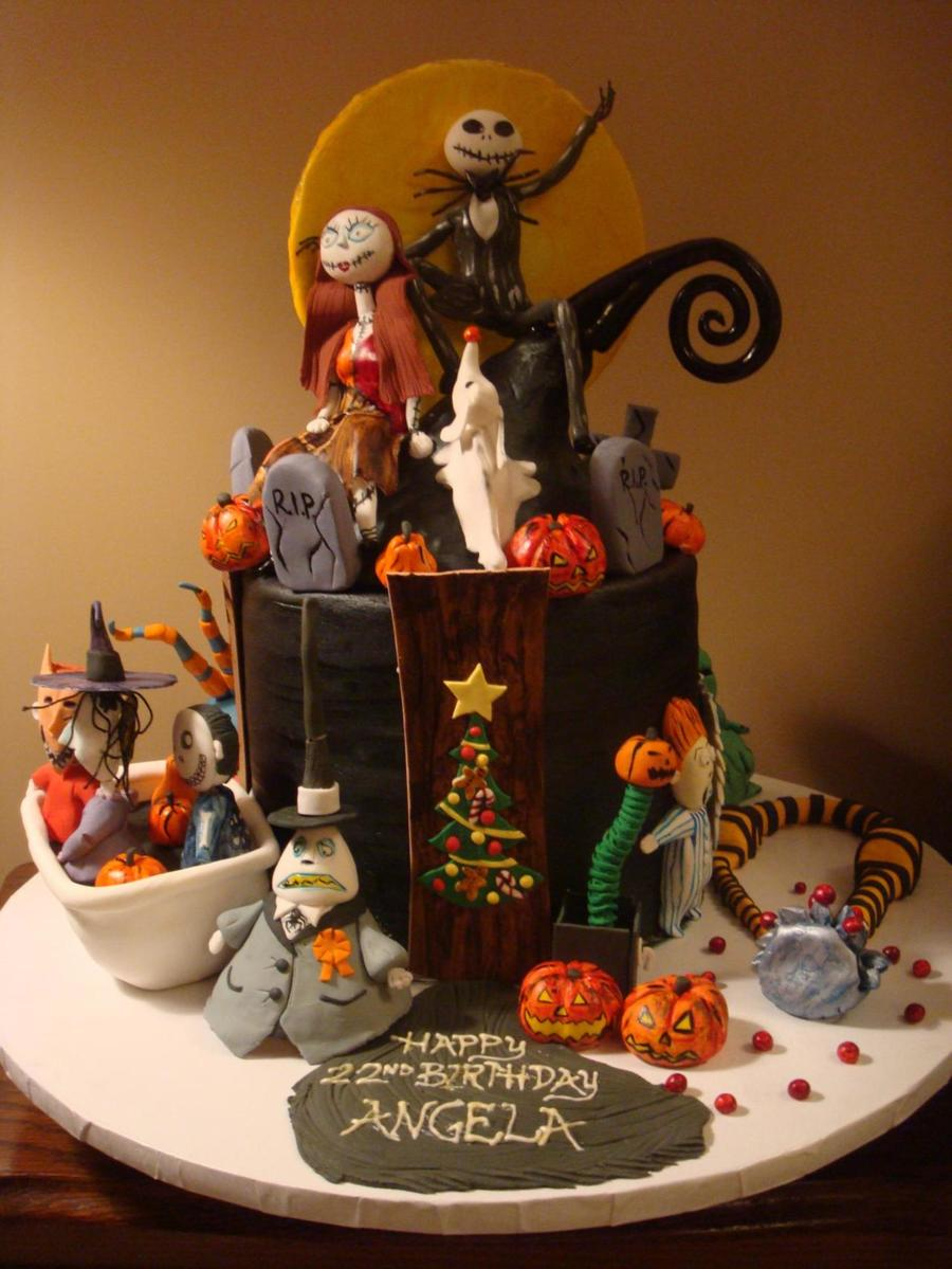 The Nightmare Before Christmas on Cake Central