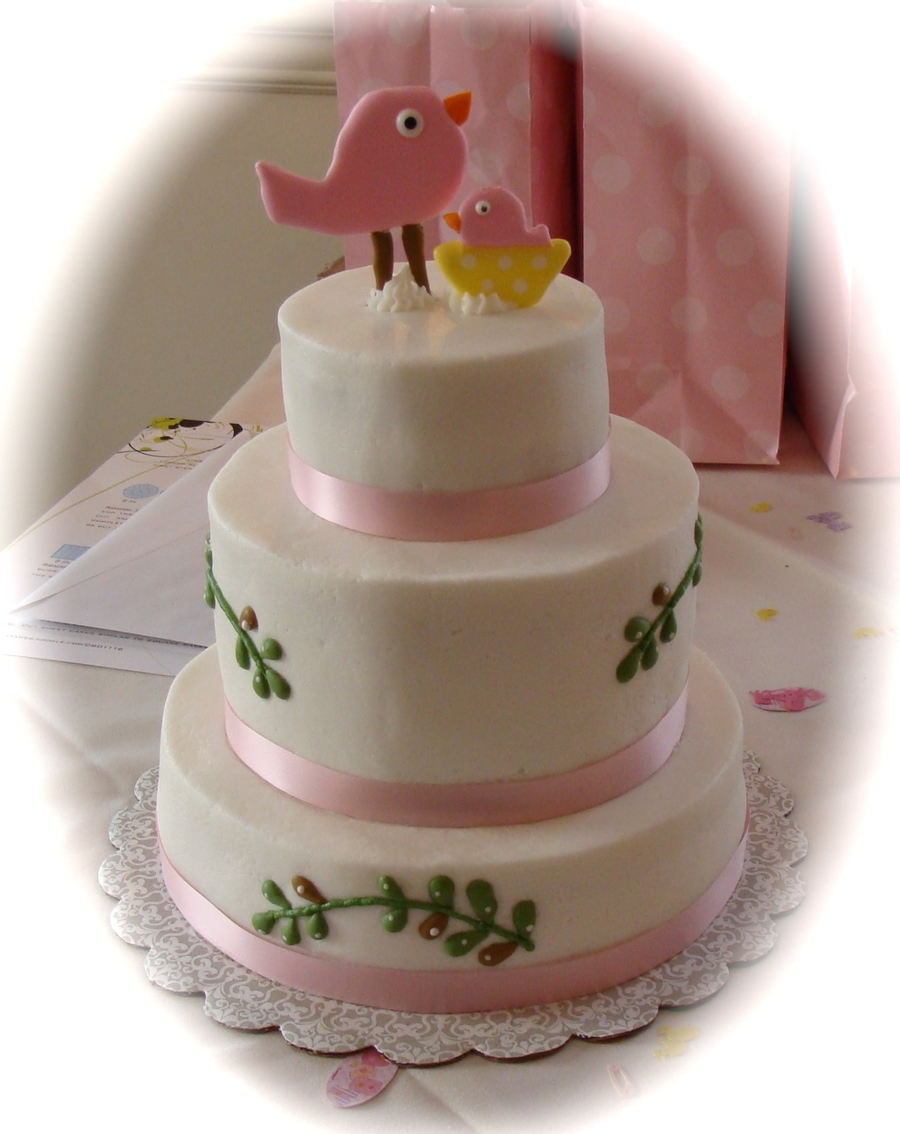 Pottery Barn Baby Shower Cake on Cake Central