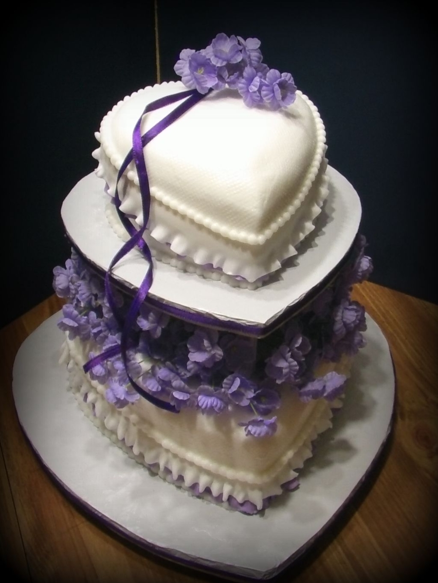Wedding Hearts on Cake Central
