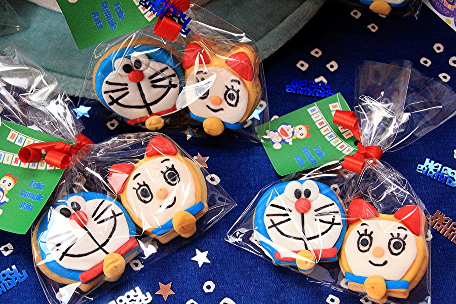 Doraemon Cookies  on Cake Central