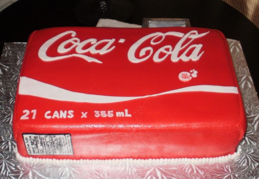 Coca-Cola 21St Birthday Cake - CakeCentral.com