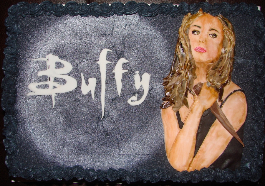Buffy The Vampire Slayer  on Cake Central