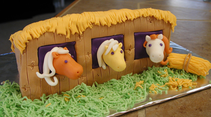 Pony Barn on Cake Central