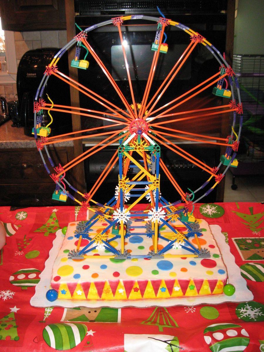 K Nex Ferris Wheel Cakecentral Com