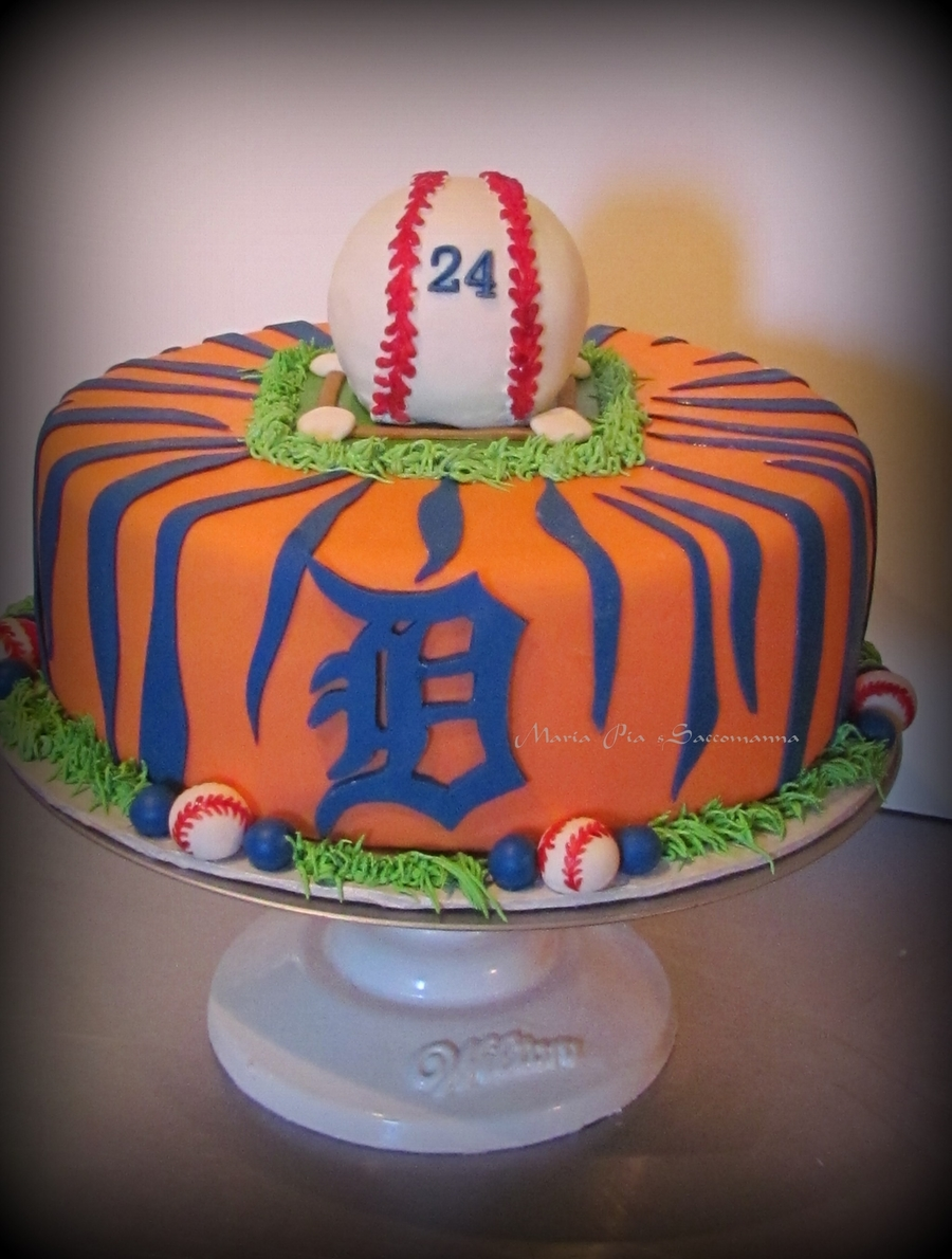 Detroit Tigers Cake on Cake Central