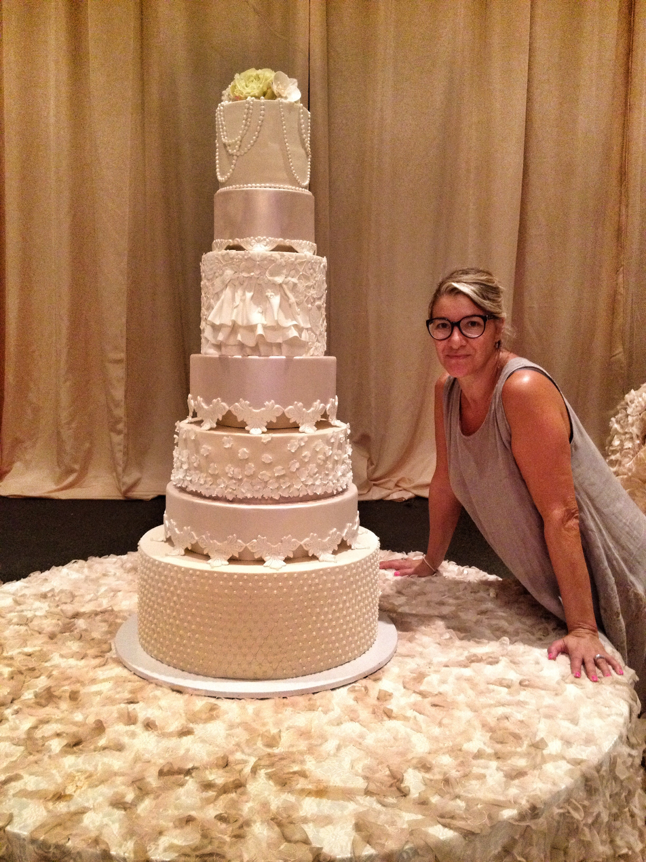7 tier wedding cakes 7 tiers wedding cake cakecentral 10511