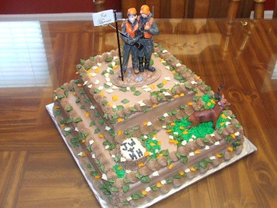 Deer Hunting Theme Grooms Cake Cakecentral Com