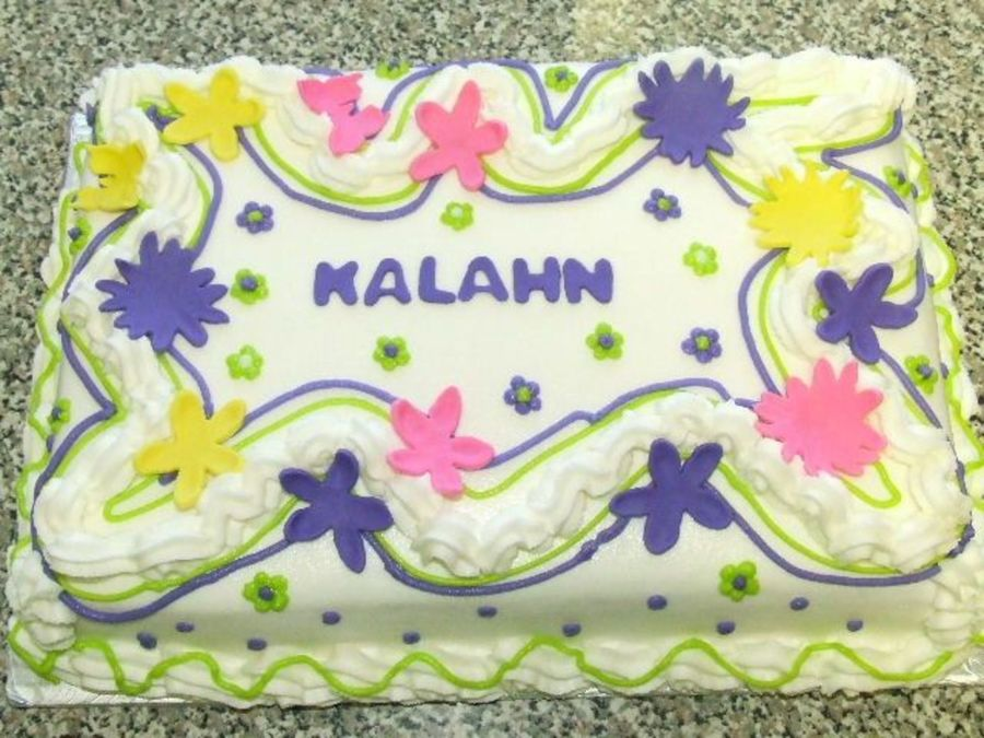 Kalahn's Birthday  on Cake Central