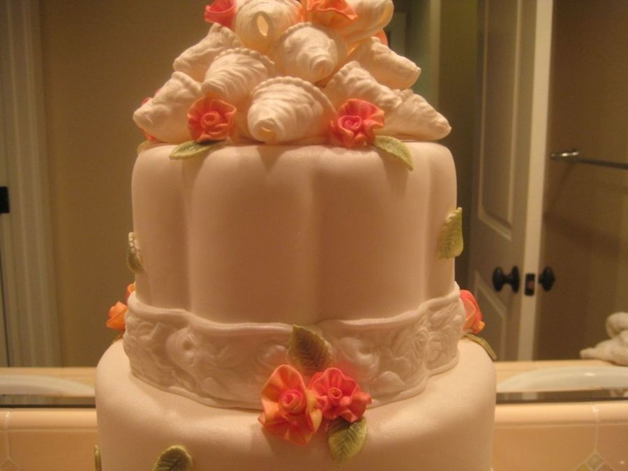 Ribbons & Roses...best In Show on Cake Central
