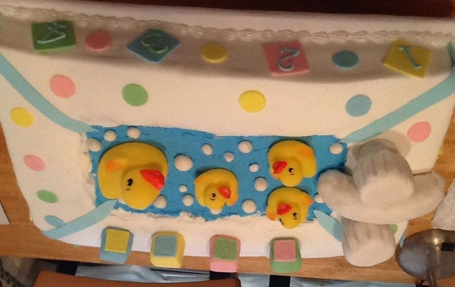 Rubber Duck Themed Baby Shower on Cake Central
