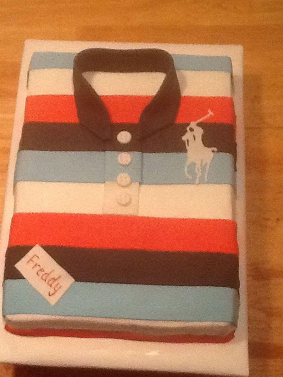 How To Make A Polo Shirt Cake Tutorial Rockwall Auction