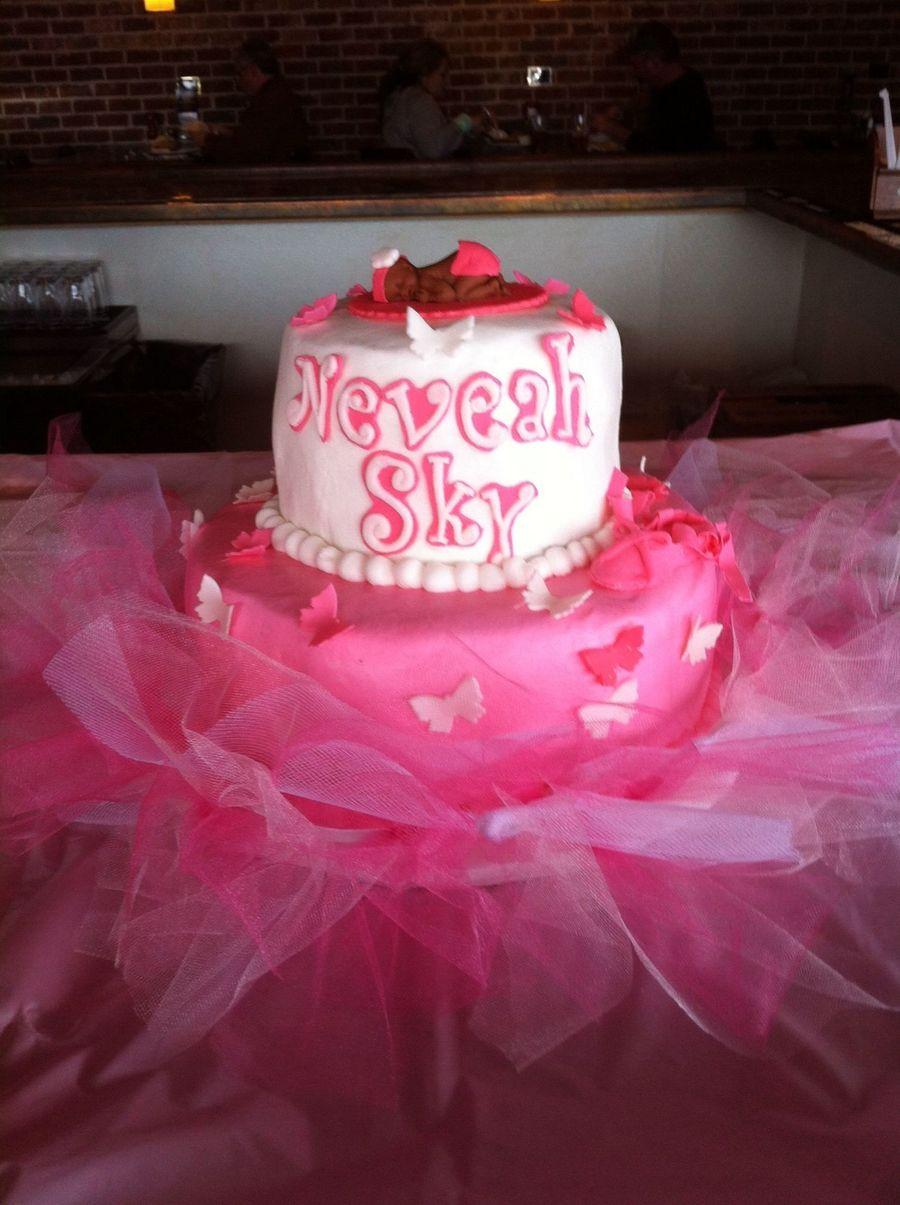 tutu baby shower cake on cake central