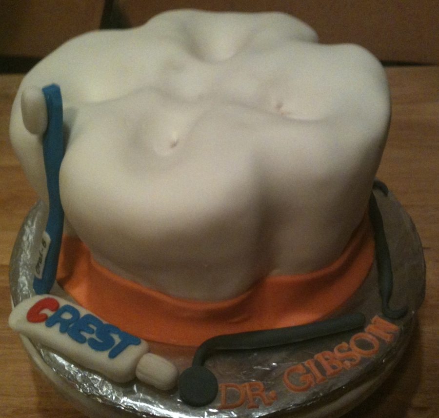 Tooth Cake  on Cake Central