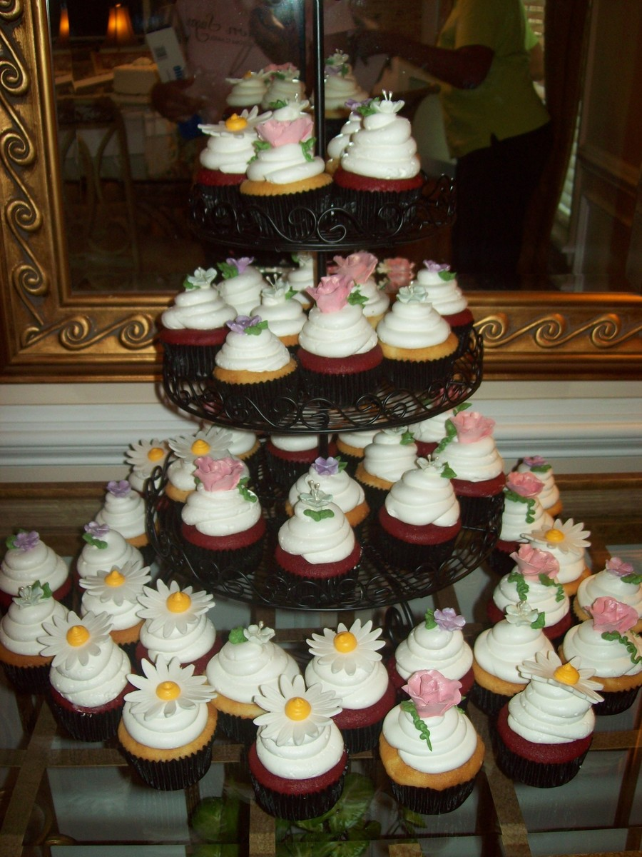 Bridal Shower Cupcakes on Cake Central